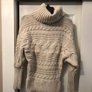 Moda international dolman Sleeve turtleneck